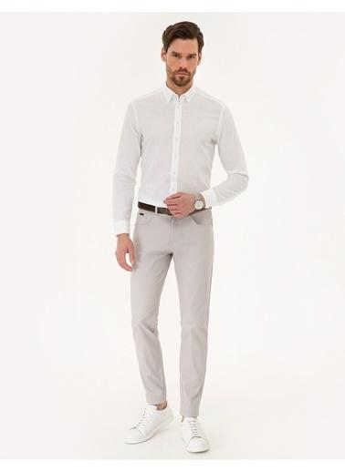 Pierre Cardin Pierre Cardin Taş Pantolon Taş